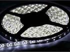 Лента LED LS607/LED-RL 30SMD(5050)/m 7.2W/m 12V 5m*10*0.22mm белый на белом IP65 (блистер)