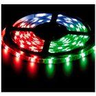 Лента LED LS607/LED-RL 30SMD(5050)/m 7.2W/m 12V 5m*10*0.22mm RGB на белом IP65 (блистер)