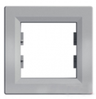 Рамка 1 пост алюминий горизонтальный EPH5800161