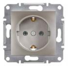 Механизм розетки (2К+З) 16A бронза EPH2900169