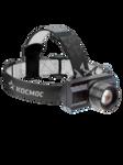 Фонарь налобный акк. с зумом КОСМОС КосH3WZoo, 3Вт XPE, литий 1200mAh, зарядка от micro USB