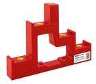 Изолятор ступенчатый ИС4-25/1-15 (4 x М6; 1 x М5) силовой с болтом