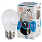 Лампа ЭРА LED smd Р45 шар-7W-840-E27