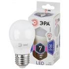 Лампа ЭРА LED smd Р45 шар-7W-860-E27