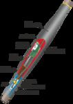 Муфта соединительная 1СТп (тк)-4ж (150-240)