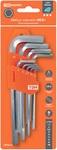 """Набор ключей """"HEX"""" 9 шт.: 1.5-10 мм, длинные, (держатель в блистере), CR-V сталь """"Алмаз"""" TDM"""