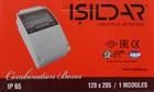 Накладной комбинированный щит на 2-6 модуля 120X205 IP54 ISILDAR