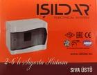 Накладной щит на 02-6 модуля IP40 ISILDAR