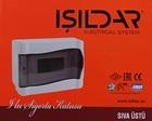 Накладной щит на 09 модуля IP40 ISILDAR