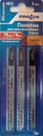 Полотна для электролобзика 3 шт, EU-хвостовик, тип: Т101D 29311-101D УПРАВДОМ