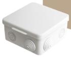 Распаячная коробка ОП 100х100х55мм, крышка, IP54, 8вх.