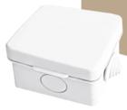 Распаячная коробка ОП 65х65х50мм, крышка, IP54, 4вх