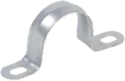 Скоба металлическая 2-х лапковая с внутр. d16-17мм