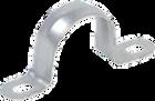 Скоба металлическая 2-х лапковая с внутр. d21-22мм