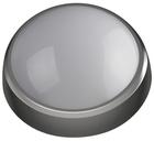 Св-к ЭРА LED круг   8Вт 4000К 640лм IP54 180*75  SPB-1-08 (B) сер