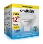 Светодиодная (LED) Лампа Smartbuy-Gu5,3/220V-12W/3000