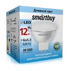 Светодиодная (LED) Лампа Smartbuy-Gu5,3/220V-12W4000