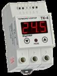 Цифровой терморегулятор одноканальный ТК-4 К (0...+999 С; 16А)
