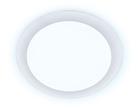 Ультратонкий светильник DAYLIGHT DLR 20W 6400K 185-250V (200W) (D225mm/A200mm)